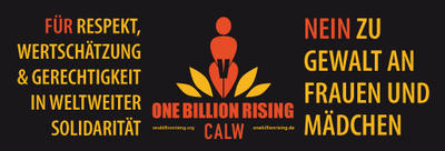 Bild vergrößern: One Billion Rising 2018 Calw