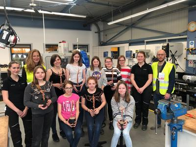 Girl's Day 2019 bei der Firma HOMAG